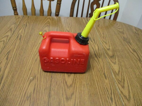 Vintage CRAFTSMAN GAS CAN 1 gallon 6 oz. Vented WITH Spout