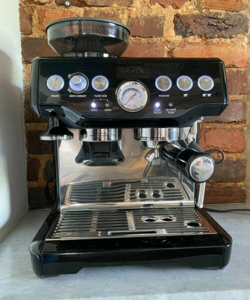 Breville BES870BSXL Barista Express Coffee Machine Black Sesame gently used