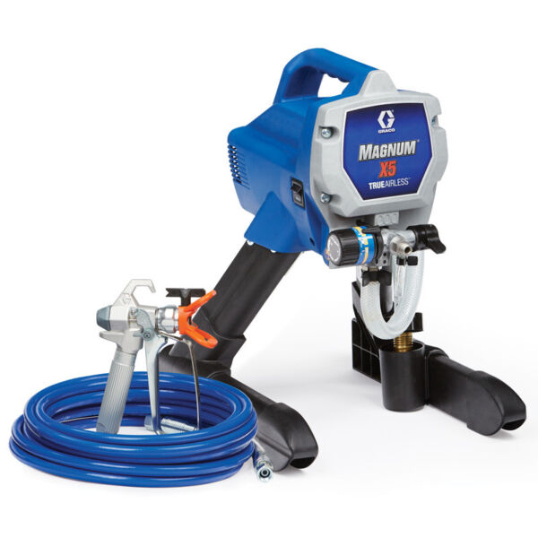 Graco Magnum X5 Electric Airless Paint Sprayer 262800 w 1 yr Wty Grade A B