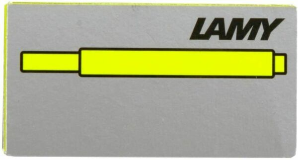 Lamy Fountain Pen Cartridges Special Edition Neon Lime Ink New In Box