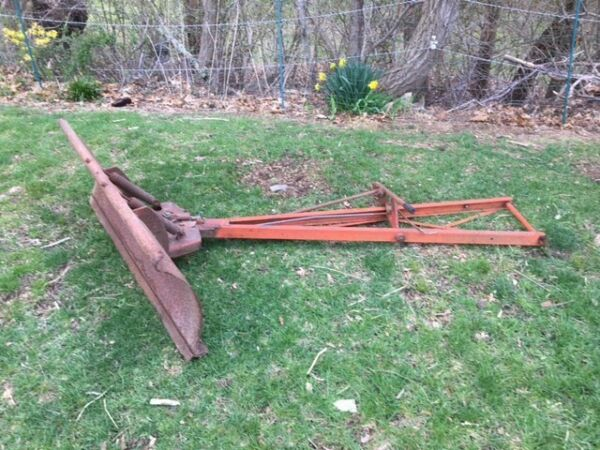 Plow for Gravely 812 Rider 4 foot manual angle