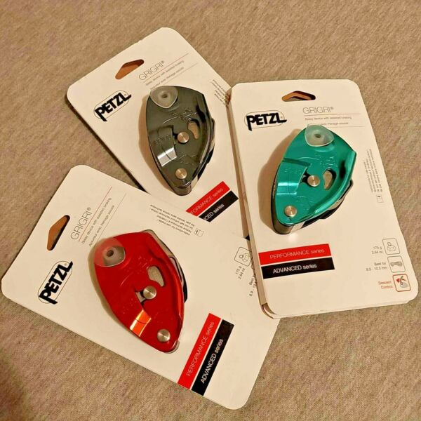 NEW Petzl Grigri Belay Device 2019 3rd Gen Assisted braking belay device