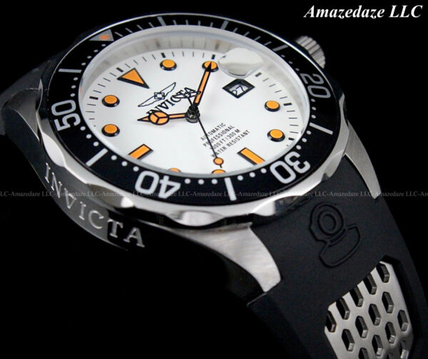 Invicta Men#x27;s 47mm GRAND DIVER Automatic Lume Dial Stainless Steel 300M Watch $99.99