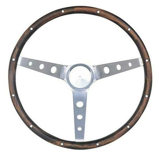 Grant 966 Classic Wood Steering Wheel w Mustang Horn Button 15 Inch $172.45