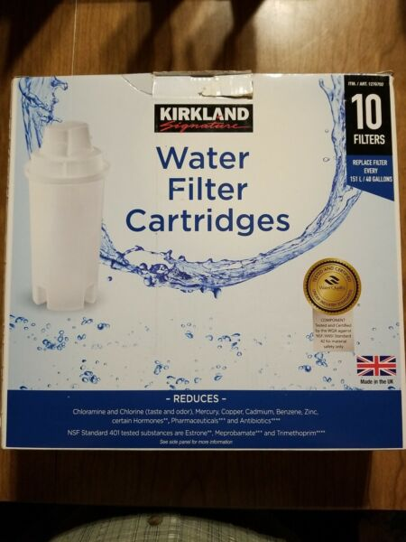 Brita water filter pitcher replacement filters 10 total 1 brita brand 9 Kirkland