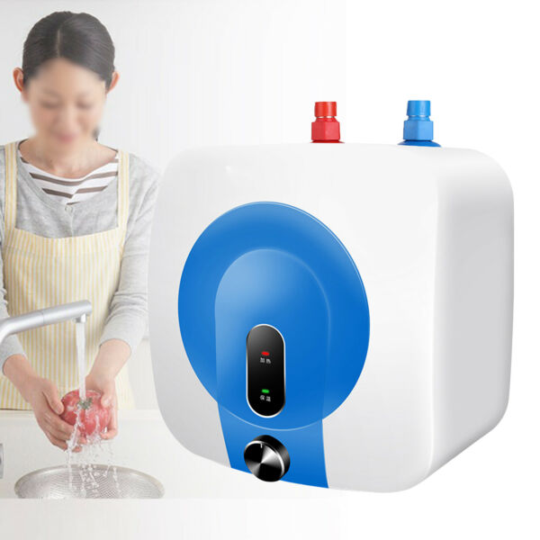 8L Electric Water Heater Tankless Instant Water Heating Kitchen Bathroom Use 75℃ $81.00