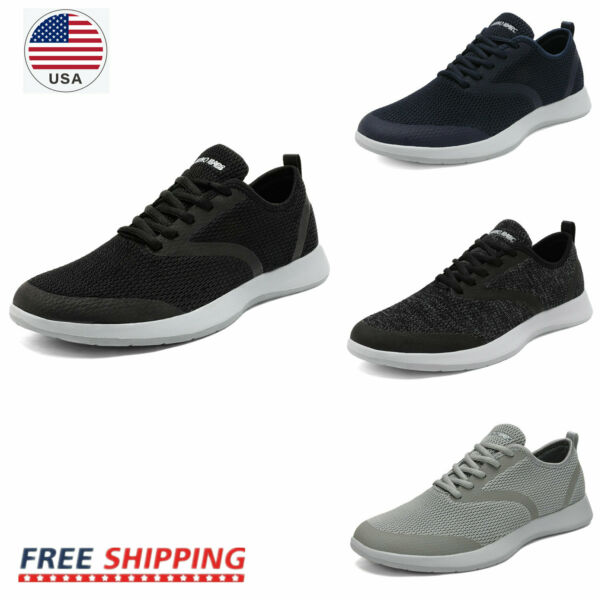 Mens Casual Shoes Walking Shoes Daily Wear Fashion Sneakers Size 6.5 13