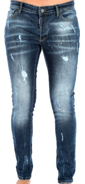DSQUARED2 MILANO blue jeans mens nice one fashionable slim fit few sizes 145 $85.00
