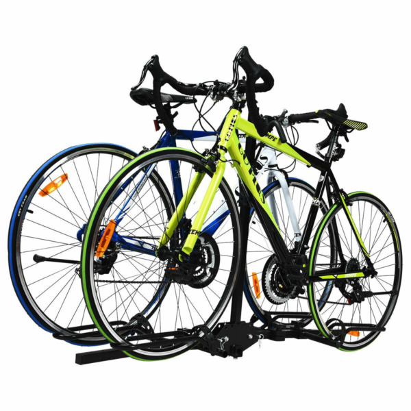 Folding Hitch Mount Bike Bicycle Rack Stand Carrier Platform 2quot; Receiver Durable $97.99