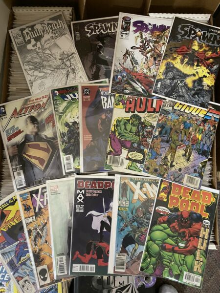 Huge Mystery Comic Book Lot of 15 Most NM NM Marvel DC Indy 1 Silver Age $21.95