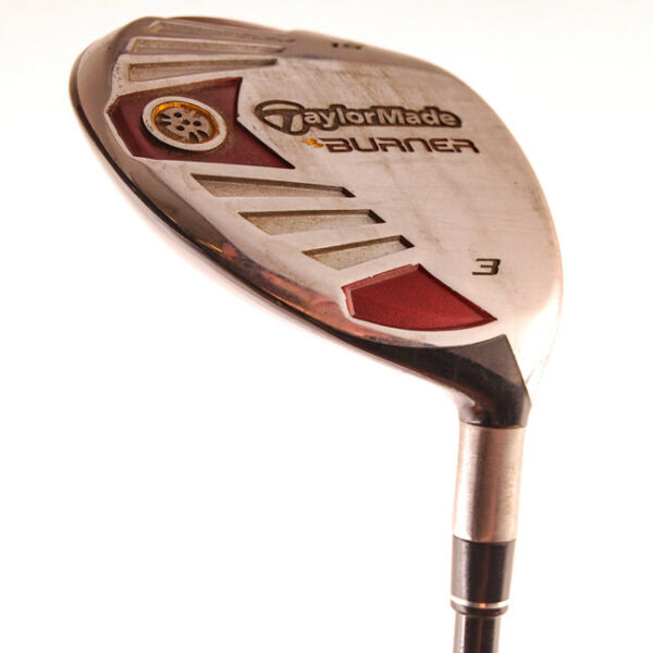 TaylorMade Burner 3 Wood 15* RE AX 50 Stiff Flex Graphite RH HC