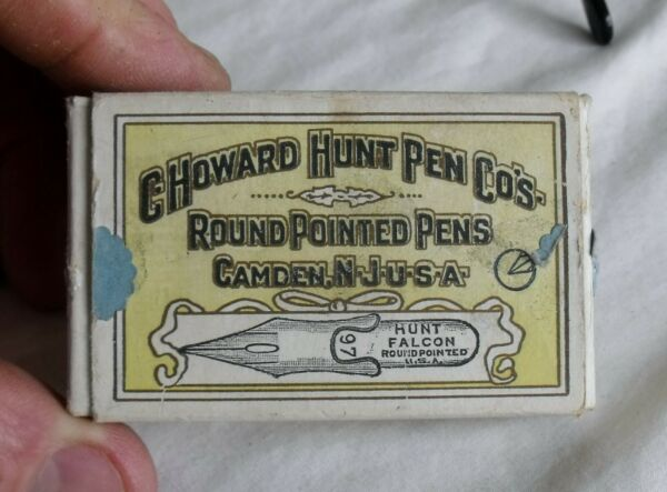Vintage Mixed Lot Esterbrook amp; C.Howard Hunt Pen Co. round pointed tips 97W