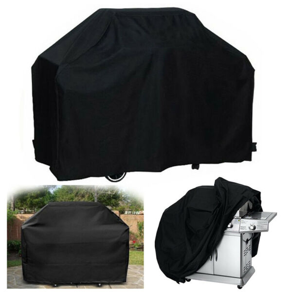 57quot; 67quot;Waterproof BBQ Cover Garden Patio Grill Protector Outdoor Covers S M L $13.79
