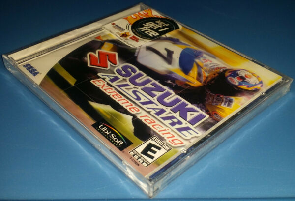 Suzuki Alstare Extreme Racing For Sega Dreamcast Brand New Factory Sealed