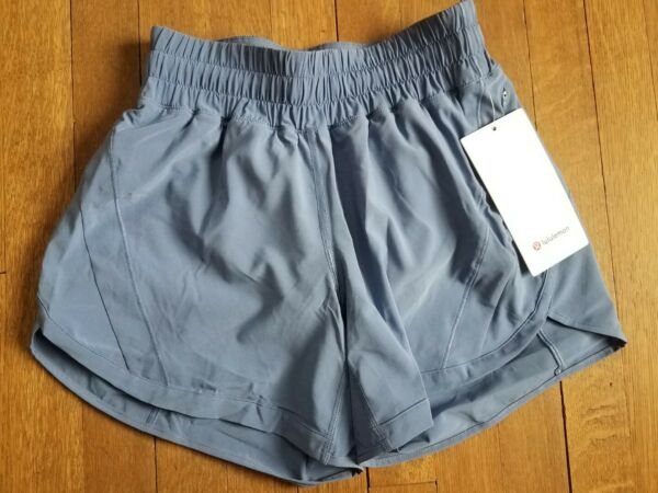 NWT Track That Short 5quot; water drop blue size 4 $48.00