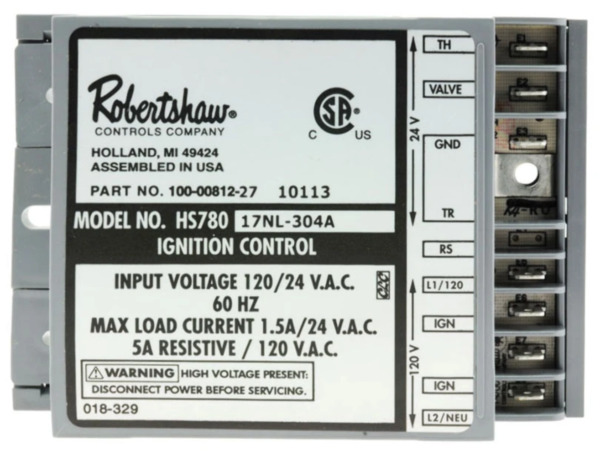 Rheem Water Heater Parts SP10758 Heater Ignition Control SP10758 $134.99