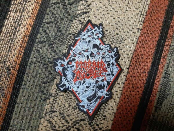 Morbid Angel Small Patch Death Metal Cannibal Corpse Deicide Napalm Cancer $20.00