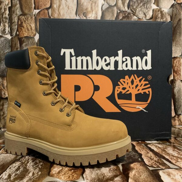 "MEN#x27;S TIMBERLAND PRO® DIRECT ATTACH 8"" SOFT TOE WATERPROOF STYLE A231J SIZE 11M $129.00"