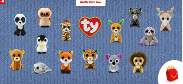 2021 McDONALD#x27;S Ty Beanie Boos Baby Babies HAPPY MEAL TOYS Or Set $4.99