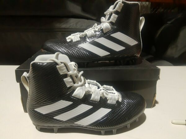 Adidas Freak Carbon High Football Cleat Black and White Mens Size 10.5 TP77 $24.99