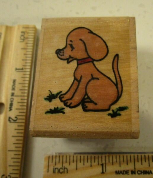 CUTE DOG MW RUBBER STAMP $5.00