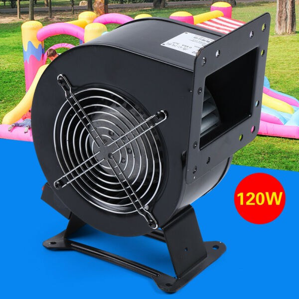 110V 120W Outdoor Wood Furnace Boiler Blower Extractor Fan Round Flange Blower $68.00