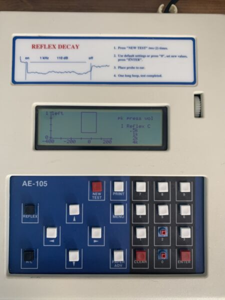 American Electronics Corporation Diagnostic tympanometer AE 105D