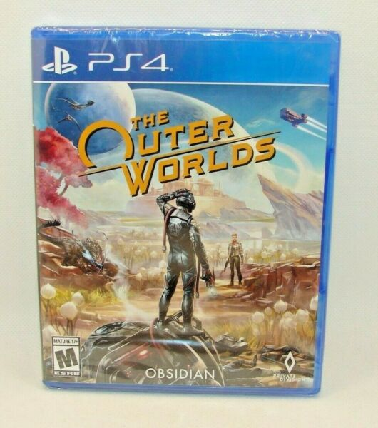 The Outer Worlds Sony PlayStation 4 *Brand New* Factory Sealed