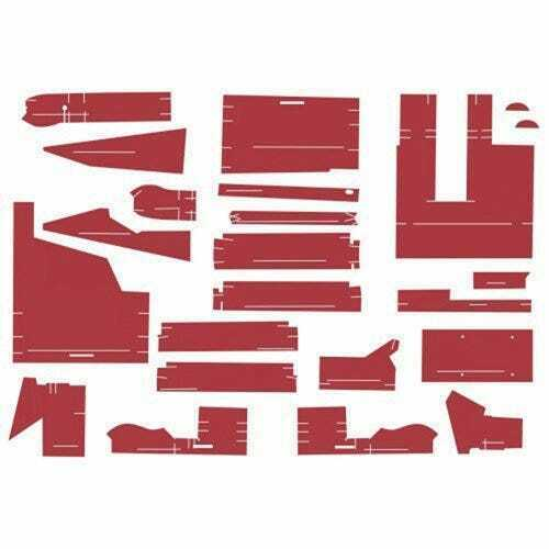 Cab Foam Kit less Headliner Red Material Series III Compatible with White 2 110 $474.94