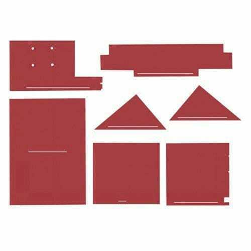 Cab Foam Kit with Headliner Red Material Compatible with White 4 210 4 175 $256.94