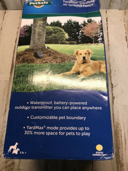 PetSafe YardMax Cordless Rechargeable Dog In Ground Fence PIG00 15958 $229.99