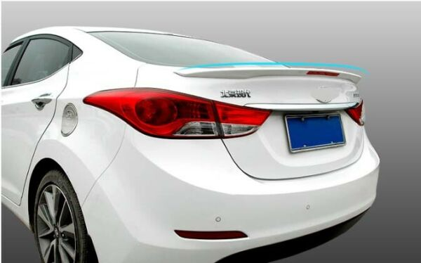 Spoiler Wing Factory Style Rear Trunk For 2011 2016 Hyundai Elantra With Light B $89.98