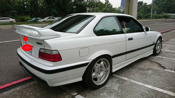 Rear ABS Trunk For BMW E36 M3 COUPE 2DR 1992 1998 Plastic Wing Spoiler Modal A $180.49