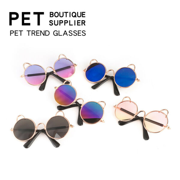 Dogs Cats Pets Glasses For Pet Small Dog Eye Wear Puppy Photos Props Sunglasses $4.99