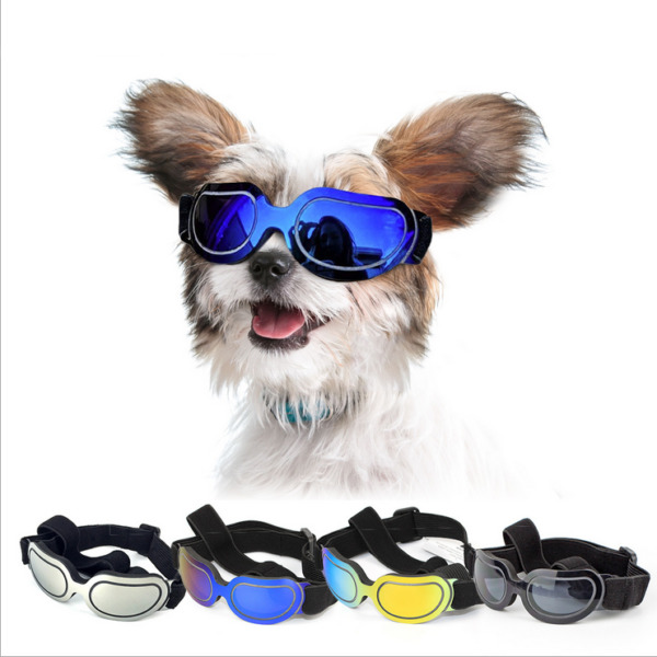 New Pets Glasses Adjustable For Small Dog Eye Wear Puppy Photos Props Sunglasses $12.99