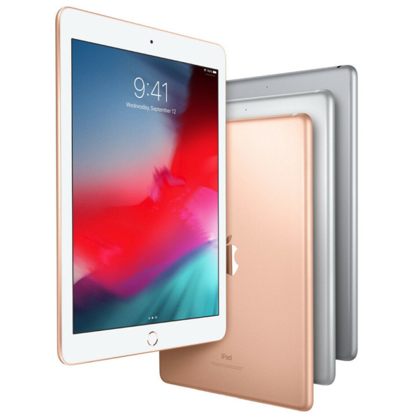 Apple iPad 6th Generation 32GB Wi Fi 9.7quot; Gold Silver Space Gray 2018