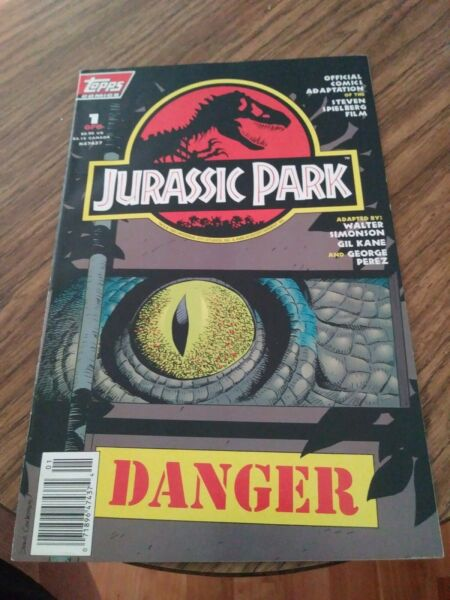 Jurassic Park #1 1993 Newsstand Issue Topps Comics Original owner and unread $16.99