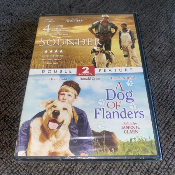 NEW DVD Double Feature: SOUNDER and A DOG OF FLANDERS 2011 C1731 $9.99