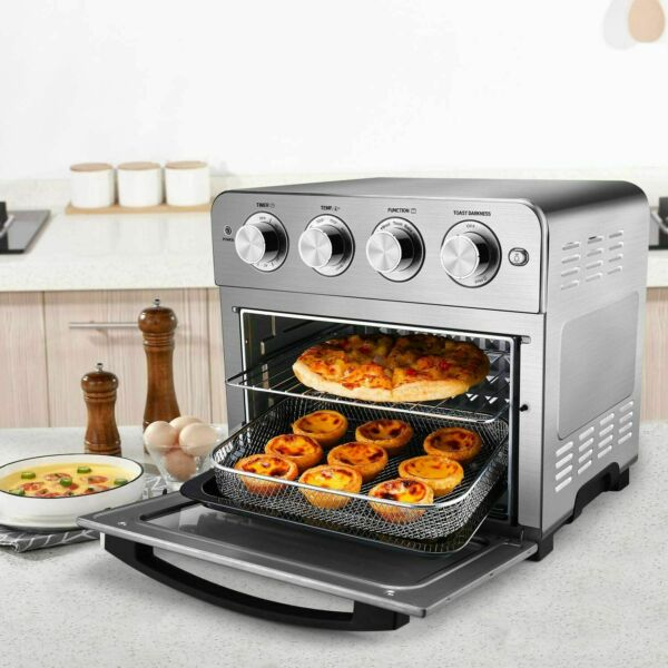 24QT Geek toaster oven Convection ovens Countertop oven Stainless Chef Air Fryer