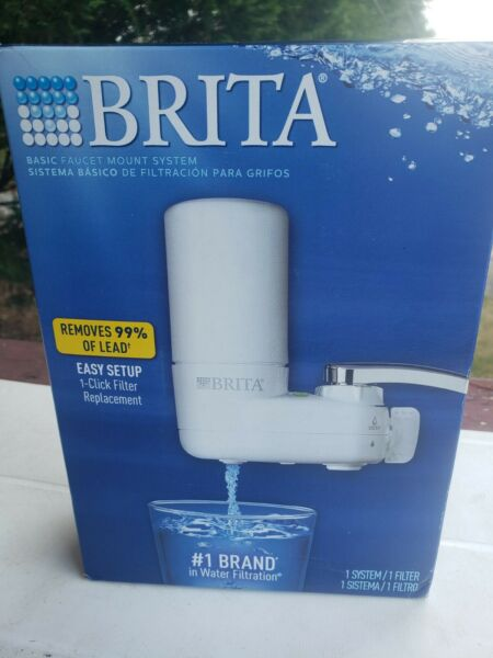 *HOT 🔥 BUY* BRITA Faucet Mount WATER SYSTEM White High Quality FREE SHIPPING
