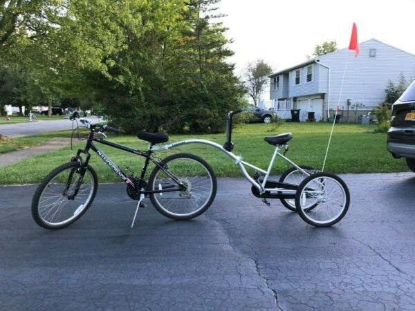 Morgan Cycle Caboose Trailer Bike Model 20 for Special needs child $499.00