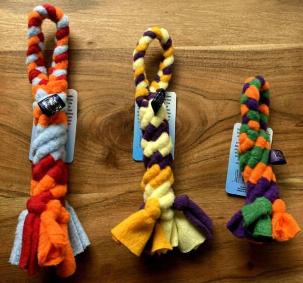Spiral Tug Toy Rope Toy Tug o war and Fetch Toy Dog Toy Good to Chew on $12.00