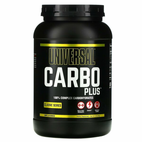 Carbo Plus 100% Complex Carbohydrate Unflavored 2.2 lb 1 kg $16.01