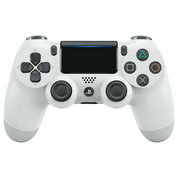 Glacier White Playstation PS4 Wireless Controller White PS4 Controller $79.99
