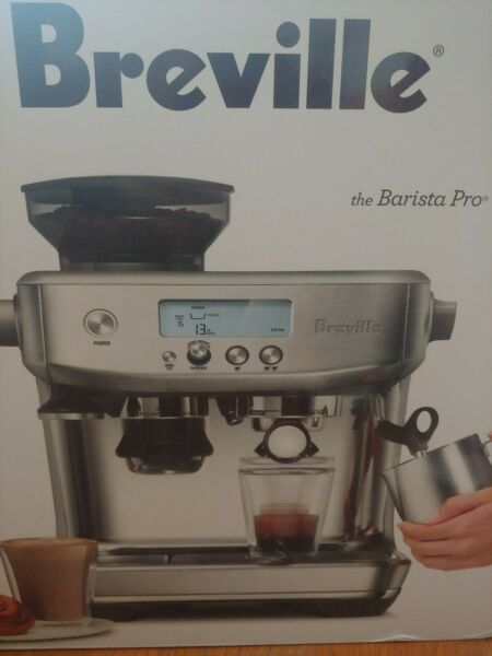 Breville the Barista Pro Machine Brushed Stainless Steel