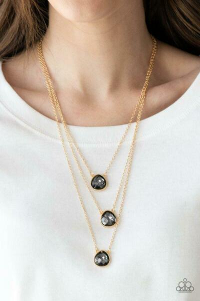 Paparazzi Jewelry Necklace Once In A MILLIONAIRE Multi