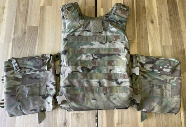 KDH Soldier Plate Carrier System SPCS SMALL w All Soft Inserts $1200.00
