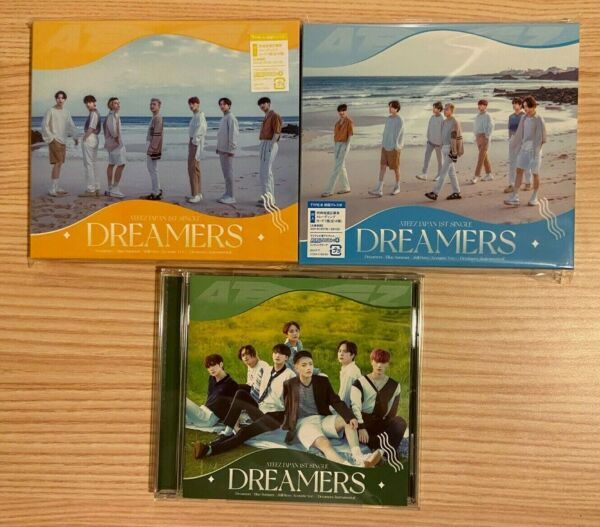 ATEEZ Dreamers Official Japanese Single A4 Poster No PC US SELLER $15.00