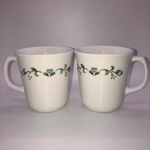 Corning Corelle COUNTRY COTTAGE Mugs Cups Lot Of 2