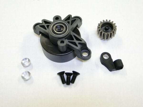 NEW KING MOTOR Clutch Bell Mount amp; Pinion Gear HPI BAJA 5B SS Compatible GB15 $21.60